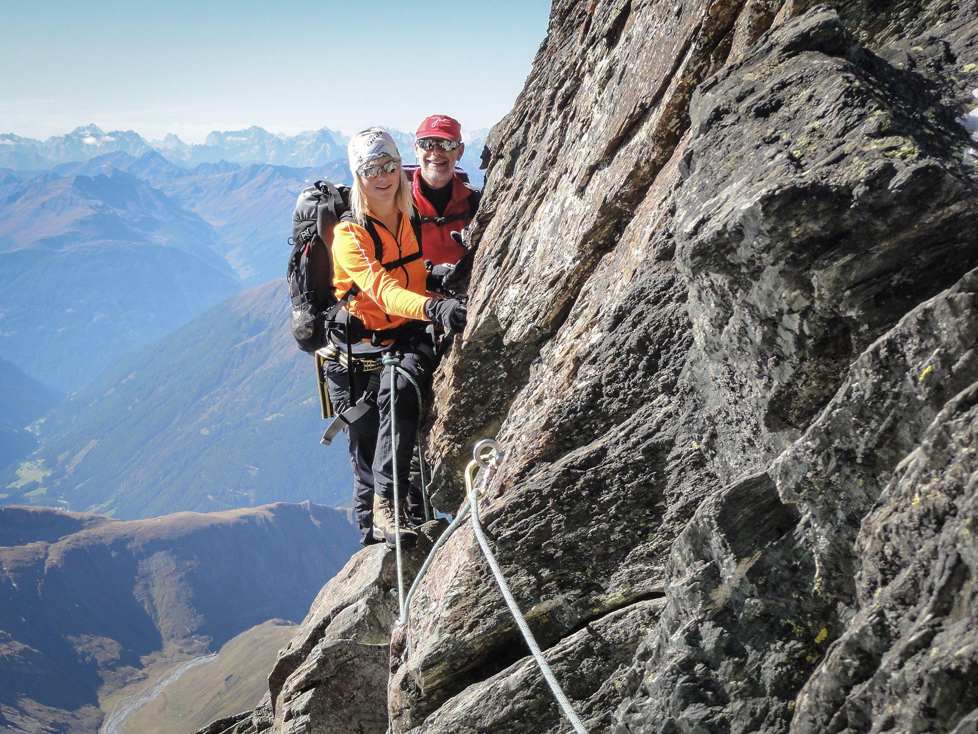 Klettersteig Oostenrijk : Klettern & klettersteige andreashanser
